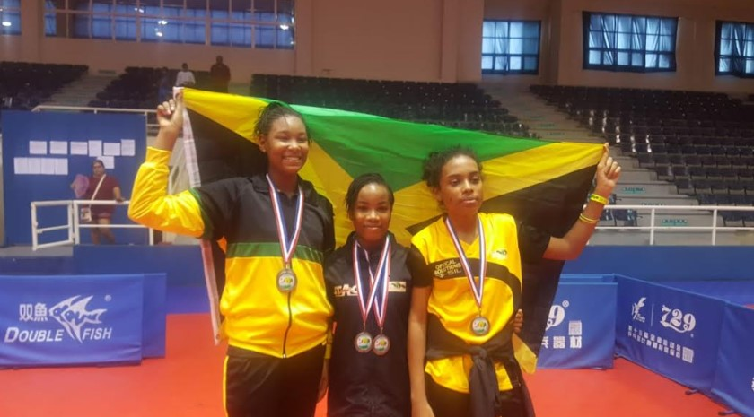 Jamaica takes 7 Bronze medals, places third in Caribbean Cadet Table Tennis Championships 6