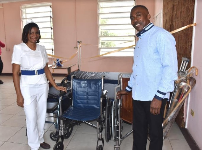 Lionel Town Hospital Receives Much-Needed Supplies Valued at US $15, 000 3
