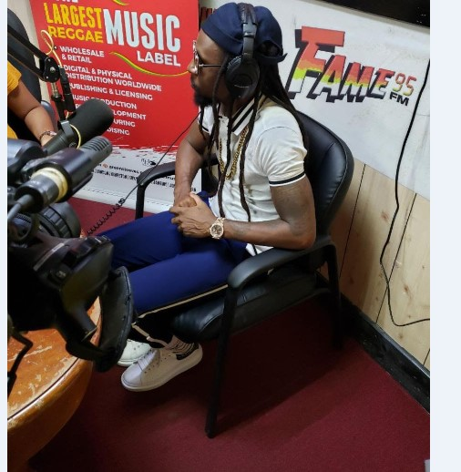 Jah Cure Takes Over Radio Globally 1