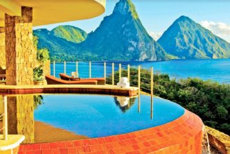 St. Lucia's Jade Mountain Captures Travel Weekly Magellan Award 2