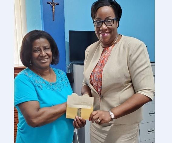 Atlanta Swans Make US$25,000 donation to St. Hugh's High School 2