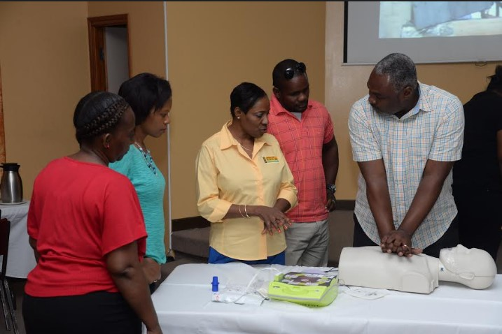 More Jamaican Schools To Receive Defibrillators This Friday! 2