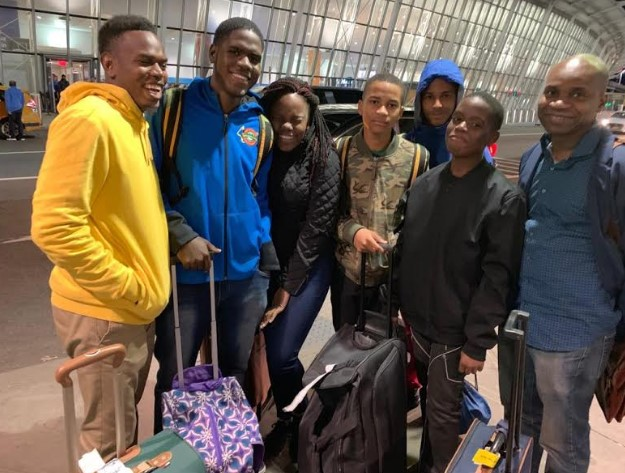 St Jago High's 2019 Champion Schools Challenge Quiz Team Visits New York 3