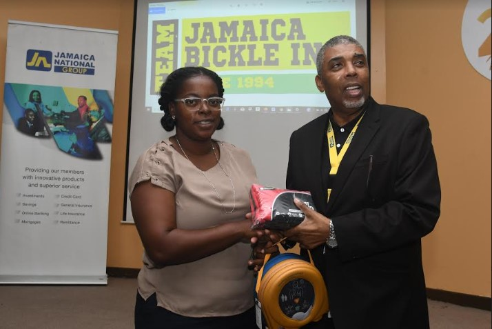 Team Jamaica Bickle Exceeds Goal Of 25 Aeds For 2019! 1