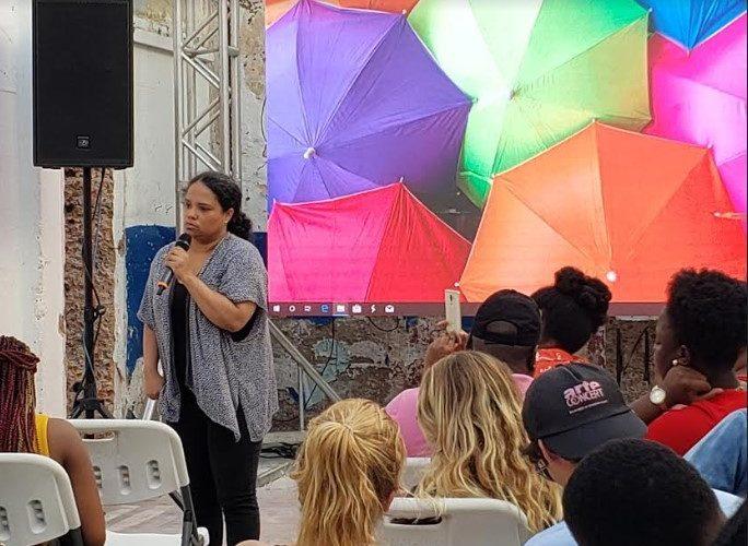Marketer Kesi Gardner Talks About Jamaican Youtubers To Watch In 2020 At Kingston Creative's Artwalk 1