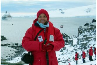 Jamaican Author launches Antarctica Exhibition at the National Library of Jamaica 1