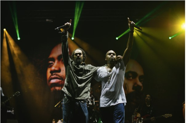 Nas & Damian Marley Reunite for 10th Anniversary on 2020 Jamrock Cruise
