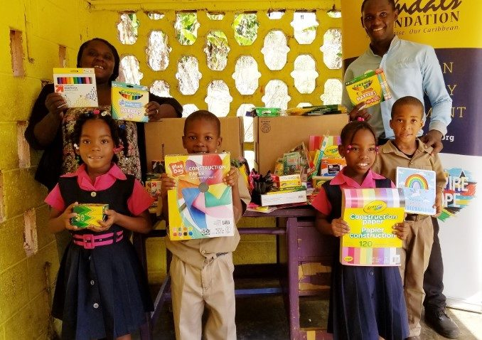 Sandals Foundation Sandals South Coast give back to Schools in Celebration of Valentines 1