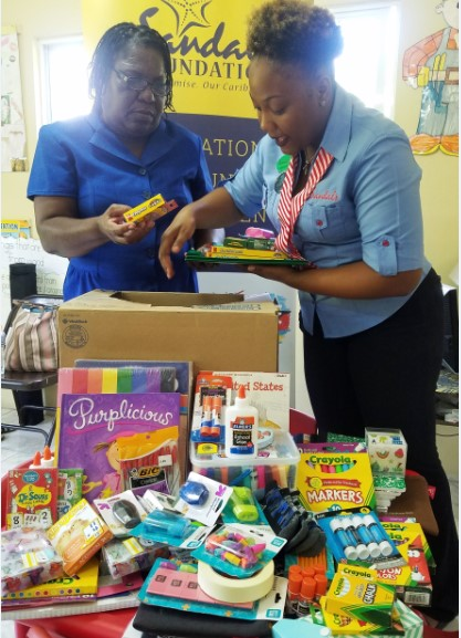 Sandals Foundation Sandals South Coast give back to Schools in Celebration of Valentines 3