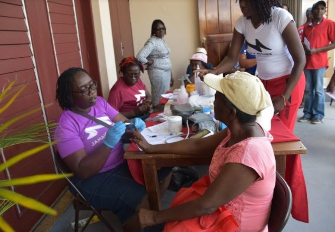 Strides Being Made in Increasing Cancer Awareness in Central Jamaica 1