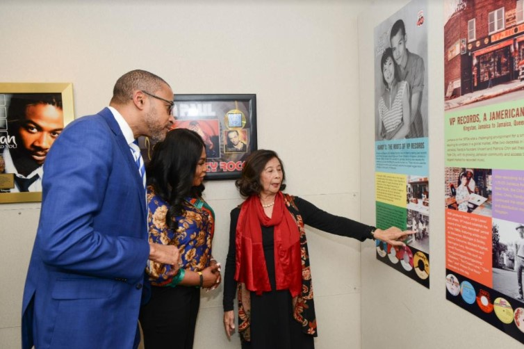 VP Records Celebrates A Reggae Music Journey Pop-up Exhibition at the Jamaican Consulate in New York 1