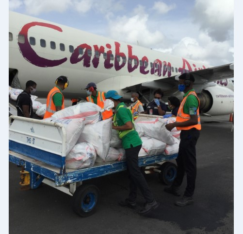 Caribbean Airlines Operates Historic Cargo Only Charter Flight 1