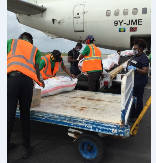 Caribbean Airlines Operates Historic Cargo Only Charter Flight 3