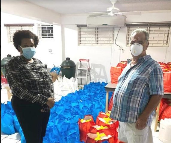 Champion for Healthcare- Clarendon Custos Helps Health Team to Battle COVID-19 1