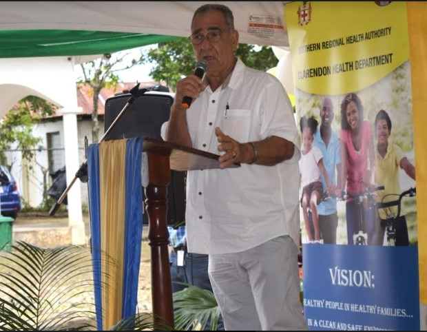 Champion for Healthcare- Clarendon Custos Helps Health Team to Battle COVID-19 2
