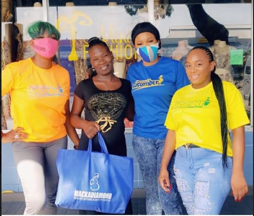 Macka Diamond's Pregnant Charity Delivers 1