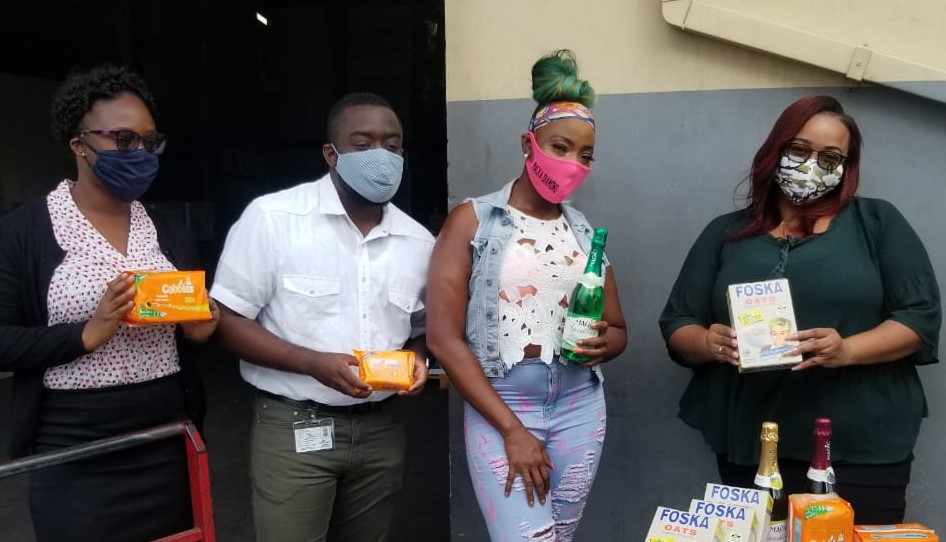 Macka Diamond's Pregnant Charity Delivers 3
