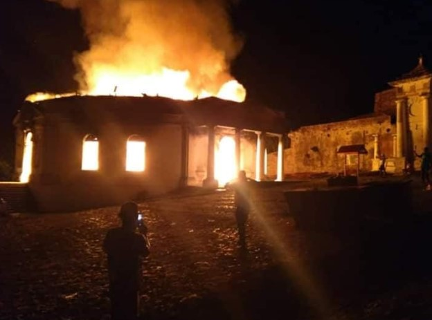 The Historical Royal Chapel of Milot Destroyed By Unknown Fire In Haiti 3