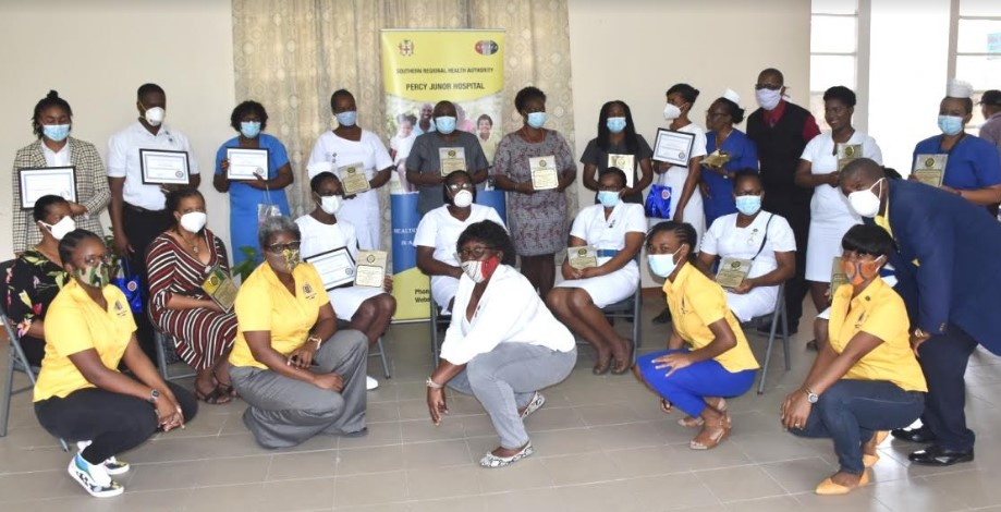 Health Workers Recognized for Long Service and Commitment to COVID-19 Response 2
