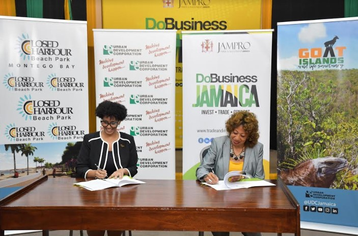 Investment Collaboration - Jampro And UDC Sign Mou 2