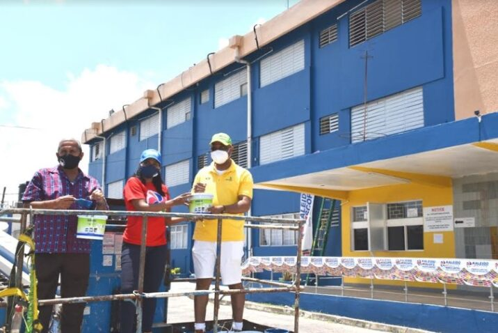 Labour Day Brings Facelift for May Pen Hospital 1