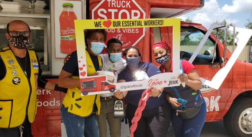 """GraceKennedy Foods USA Wraps Up """"With Love From Grace"""" Food Truck Tour, Supporting Essential Workers in New York and Florida 1"""