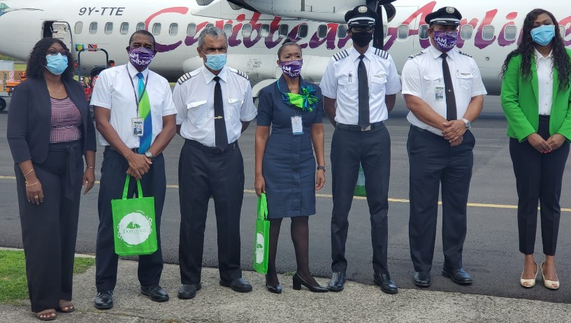 Caribbean Airlines' Launches Service Between Barbados And Dominica