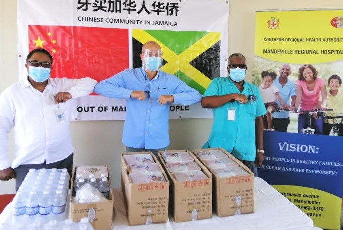 Mandeville Hospital Frontline Workers Gifted With Lunches From Chinese Benevolent Association2