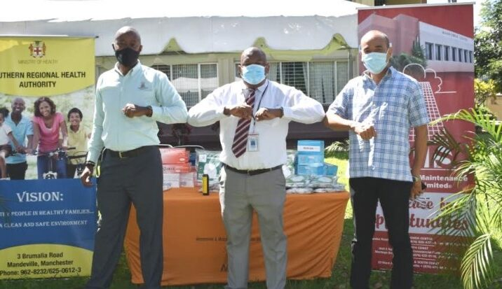 Manpower Gives Back to Health Care in Central Jamaica2