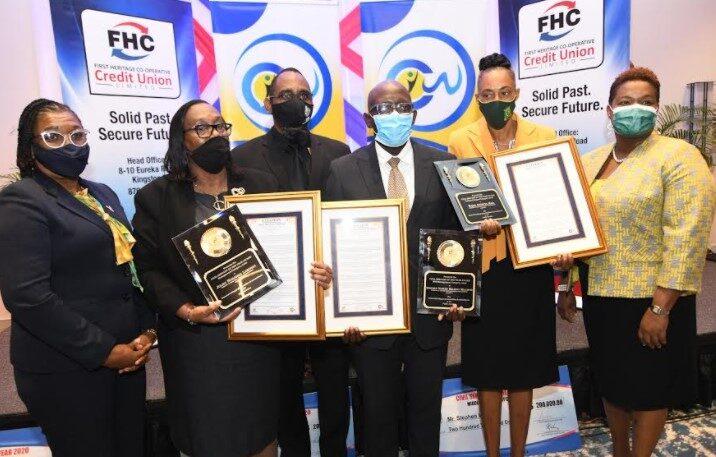 FHC Honours Three Civil Servants1