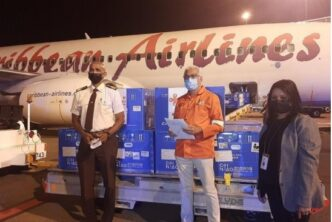 Caribbean Airlines Delivers 100,000 Doses of Sinopharm Vaccines
