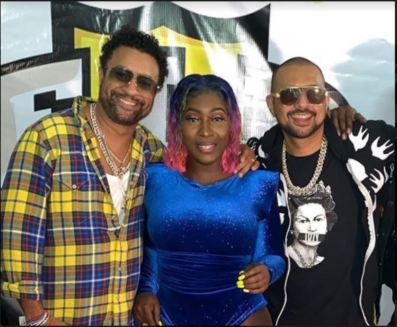 Spice, Sean Paul & Shaggy Perform Hit Single on National TV in USA