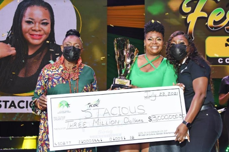 Stacious Wins 2021 Jamaica Festival Song Competition5