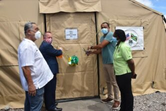May Pen Hospital Gets Field Hospital for COVID-19 Patients1